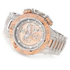 Invicta 50mm Subaqua Noma V Swiss Made Quartz Chronograph Stainless Steel Bracelet Watch ShopHQ.com