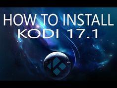 How To Install   Kodi 17.1 Krypton on Firestick - YouTube