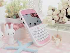 Hello Kitty phone ( I think this is the blackberry phone)