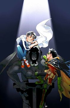 Arte Dc Comics, Fun Comics, Comics Story, Damian Wayne, Comic Movies, Cartoon Movies, Bat Joker, Batman Y Superman, Batman Quotes