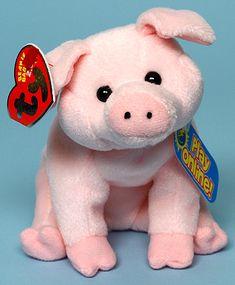 Sniffs - pig - Ty Beanie Babies 2.0