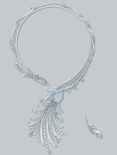 Enchanting Fashion Jewelry Ideas Ideas 7 Dumbfounding Tips: Hottest Jewelry Trends costume jewelry value. Dior Jewelry, Swarovski Jewelry, Pearl Jewelry, Crystal Jewelry, Fashion Jewelry, Swan Jewelry, Necklace Drawing, Jewelry Design Drawing, Necklaces