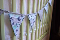 Guirlande chambre bébé en coton guirlande fanions | Etsy Decoration, Crochet Bikini, Etsy, Changing Pad, Nursery, Wall Art, Cotton, Decor, Deko