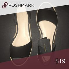NWT! Black slip on sandals, size 7.5 Brand new, with tags still attached! Black slip on sandals from FOREVER 21. Size 7 1/2. Forever 21 Shoes Sandals