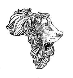 Cool African Tribal Tattoo Design : Amazing Tattoo Design