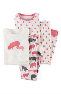 Mini Boden Snug Fit Pajamas (2-Pack) (Toddler Girls, Little Girls & Big Girls) available at #Nordstrom