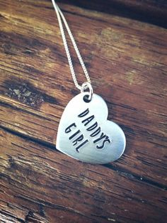 Daddys girl necklace for daughter, daddy daughter gift, gift for daughter, gift for step daughter, f Daddy Dom Little Girl, Mommys Girl, Daddys Princess, My Princess, Daddy Quotes, Daddy Daughter Quotes, Daughter Necklace, Girls Necklaces, S Girls
