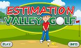"This is an image from this resource on the Internet4Classrooms' ""Fourth Grade Interactive Math Skills - Estimation"" resource page:    Estimation Valley Golf.     Estimate answers to problems and putt your way into a championship!"