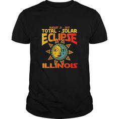 Illinois USA Total Solar Eclipse August 21 2017 TShirt.