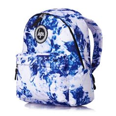 Hype Backpacks - Hype Larimar Backpack - White/Blue
