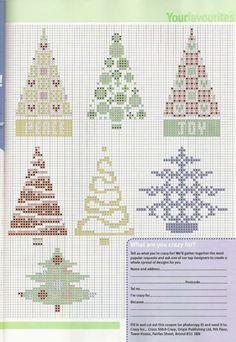 Árvores de Natal ~ Ponto Cris