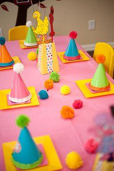 "Photo 1 of 41: Sesame Street inspired / Birthday ""Zoe's Sesame Street Soiree"" | Catch My Party"