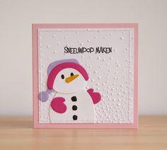 Die Cut Christmas Cards, Cute Snowman, Snowmen, Marianne Design, Stamping Up, Handmade Christmas, Card Making, Scrapbook, Seasons