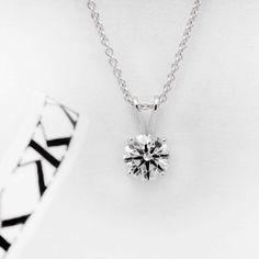 1.80ct Round  Brilliant cut diamond pendant #bykalfinjewellery #diamondrings #engagementrings #diamondjewellery #custommadejewellery #diamondblog #collinsst #weddingring #cbdjewellers #melbourne #bestjeweller #bestdiamonds #diamondringsmelbourne #engagementringsmelbourne #cityjeweller #weddingbands #customdesignrings #solitaire www.kalfin.com.au