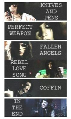 """Andy Biersack ~Ashley"" by falling-in-the-black-horizon ❤ liked on Polyvore"