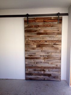 MOD Rolling Barn Door by CustomBoardandSteel on Etsy