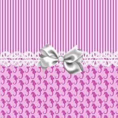 """""""Pink Seahorses"""" by Debra Miller."""