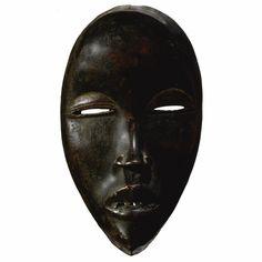 African Masks, African Art, Tragedy Mask, Masks Art, Beautiful Mask, Ivory Coast, Ocean Art, Tribal Art, Archaeology