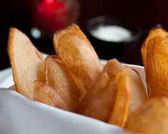 Souffle Potato Crisps -  America's 10 Best French Fries by Food Network Magazine 2015   Luc | Seattle