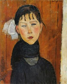 Amedeo Modigliani Marie Daughter of the People 1918