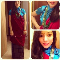 Nepali magar dress !!! <3