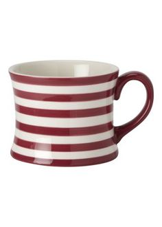 Hand Painted Stripe Mug