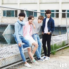ize Magazine, August 2015 E-book : Hip Hop Unit ft. Wonwoo, Vernon, S.Coups, and Mingyu