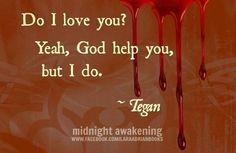 Tegan | Lara Adrian | The Midnight Breed | Vampire Romance Series