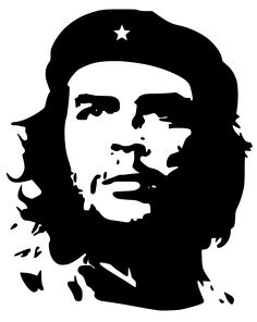 Arts: This picture was painted by Jim Fitzpatrick. He made this piece after the Cuban revolution of Che Guevara. This piece became a very popular piece of art in the century. Andy Warhol, Che Guevara Tattoo, Stencil Art, Stencils, Che Quevara, Jim Fitzpatrick, Arte Do Hip Hop, Ernesto Che Guevara, Human Body Parts