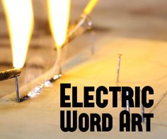 """Burn Words into Wood with Electricity - Lichtenberg FiguresA while back I uploaded an Instructable explaining how to burn Lichtenberg figures into wood using an old microwave transformer. Now after doing a bit of experimenting I came up with a simple way that you can actually burn words into wood by using a similar method.If you haven't checked out my other Instructable """"Making Lichtenberg Figures in Wood"""" you should consider checking it out because it explains some things t..."""