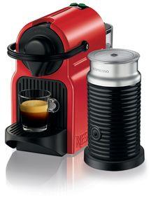 Nespresso Inissia Ruby Red - coffee machine review