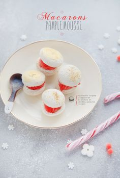 Grapefruit #macaroon by Griottes (culinary blog & photography)