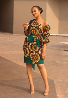 Short African Dresses, Latest African Fashion Dresses, African Print Fashion, Short Dresses, Modern African Fashion, African Fashion Designers, Ankara Fashion, Africa Fashion, African Prints