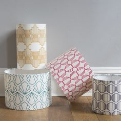 Deco Lampshades  Photography by Holly Booth