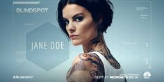 Jaimie Alexander Is Jane Doe in Blindspot. Blindspot premieres Monday, September 21 at 10/9c on NBC after the season premiere of The Voice. @nbctv