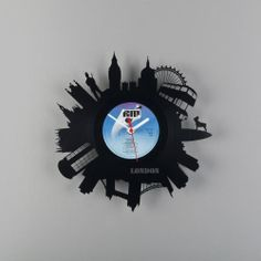 watch from vinyl records