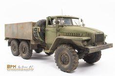 Soviet Heavy Truck model.