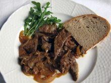 Bravčová pečeň na cibuli Liver Recipes, Pot Roast, Food And Drink, Pork, Low Carb, Beef, Treats, Ethnic Recipes, Browning