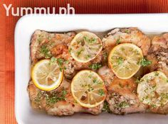 Baked Chicken Thighs with Lemon and Garlic Recipe