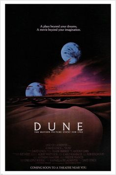 Dune posters for sale online. Buy Dune movie posters from Movie Poster Shop. We're your movie poster source for new releases and vintage movie posters. Science Fiction, Sci Fi Movies, Movie Tv, Fiction Movies, Fantasy Movies, David Lynch Movies, Dune Frank Herbert, Dream Fantasy, Movie Posters
