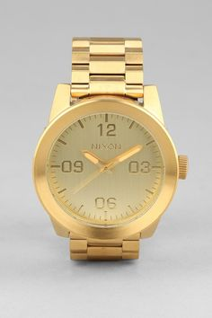 Nixon Corporal Stainless Steel Watch - Urban Outfitters