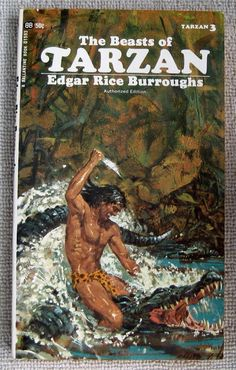 Edgar Rice Burroughs The Beast of Tarzan PB Ballantine 01593 Book 3
