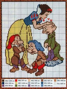 Blanche neige et 3nains