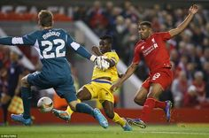 The visitors were soon level in the first half after Nathaniel Clyne gave the ball away an...