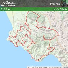 Check out my ViewRanger #off road biking route - total distance 539.30 km. View…