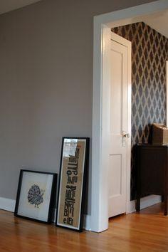 sherwin williams : morris room gray