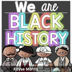 Black History Month | Download this bundle of mini-units about four popular historical figures that you and your students can study during Black History Month! Ruby Bridges, George Washington Carver, Sojourner Truth, and Jackie Robinson are included in this bundle!