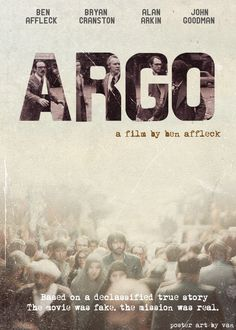 Argo (2012) directed by Ben Affleck, written by  Chris Terrio (based on the book by Tony Mendez and the Wired article by Joshuah Bearman)