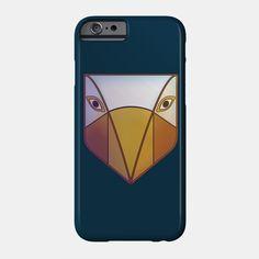 Tribal bird mask phone case