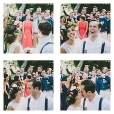 The kiss! @weddings
